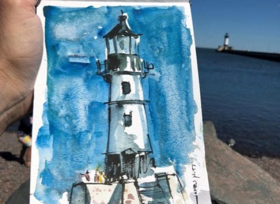 OCTOBER MEETING: Online Demo by Watercolor Artist James Nutt