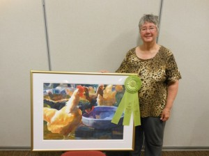 0915 Kathy Braud State Fair painting