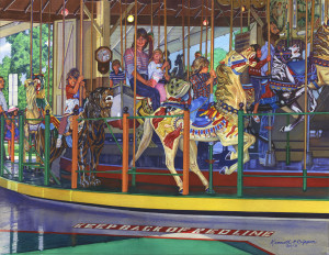 Third Place -- Ken Crippen, Carousel