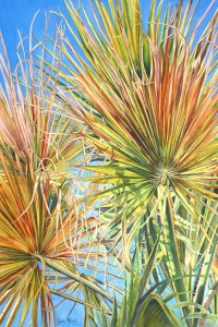 """Dappled Palm Fronds"" by Patty Healy"