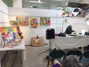 Emmy White, 2017 Artists' Market Demo Artist