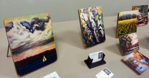 Mondloch Paintings Display