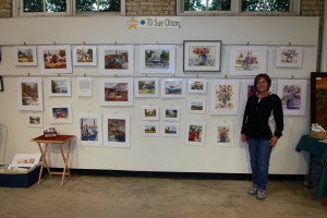 Sue Olson, 2017 Artists' Market Co-Chair