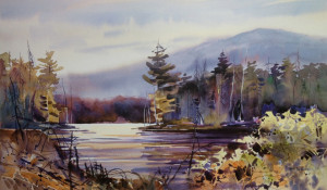 Wiemer Quiet Cove - Watercolor