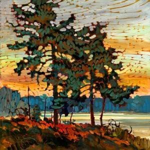 Wiemer White Pines - Acrylic