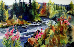 "Polly Olmsted ""Alaska River"""