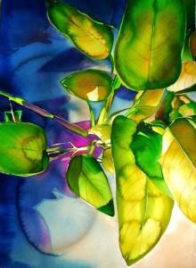 Carol Carter art-tropical-green-art