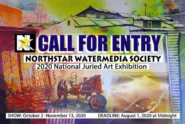 2020 Northstar Exhibition POSTCARD front
